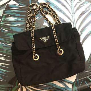 Authentic Prada Nylon Shoulder Bag