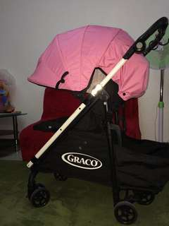 Pink graco
