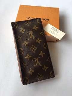 Authentic Louis Vuitton Monogram Canvas Long Wallet