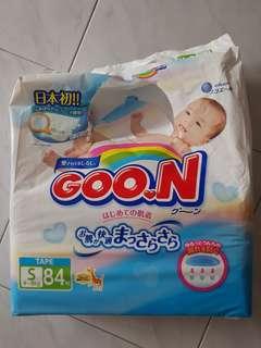 3 packs x GOO. N Diapers