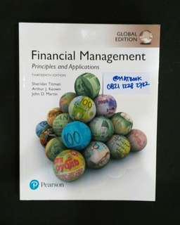 Financial Management Principles And Applications 13ed