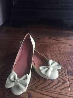 Red Valentino Label Ballet Flats