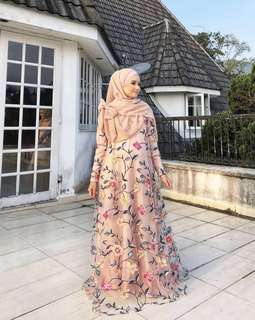 Arissa Jubah By Bella Ammara. Read more at description below ⤵️