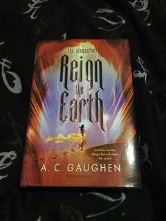 Reign the earth (hardback)