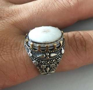 Cincin Perak origin ( Yemen ) I bring them from my country ) and i have many shapes grade 1 cincin 😊