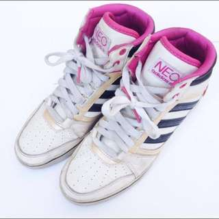 Adidas Neo Pink White