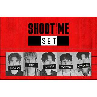 [PREORDER] [SET] DAY6 (데이식스) - 3rd Mini album / Shoot Me : Youth Part 1