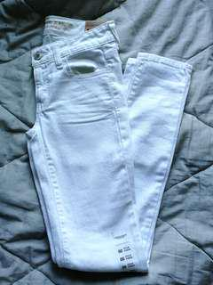 BNWT White jeggings | AE