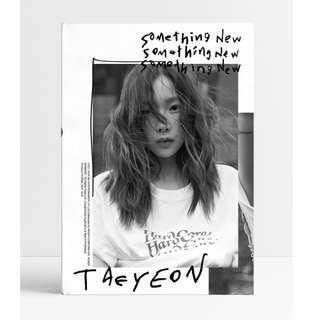[PREORDER] 태연 TaeYeon - 3rd Mini album / Something New