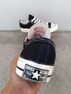 READY STOCK  PREMIUM BNIB  MADE IN VIETNAM CONVERSE LOW 70.s BLACK/WHITE SIZE 40/41/42/43/44