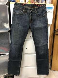 W31 罕有H&M 黑皮牌靚洗水💦厚料牛仔褲🎉記得follow 我。有大量其他品牌👖