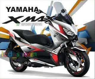 Decal xmax white