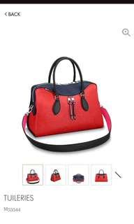 Louis Vuitton Tuileries 2018 epi leather
