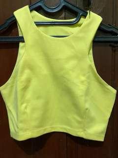 Yellow bkk top