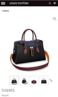 Louis Vuitton Tuileries2018 epi leather