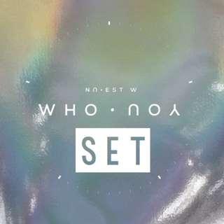 [PREORDER] [SET] NU'EST W (뉴이스트 W) - WHO, YOU