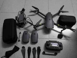 DJI Mavic Pro + 3 batteries + complete set