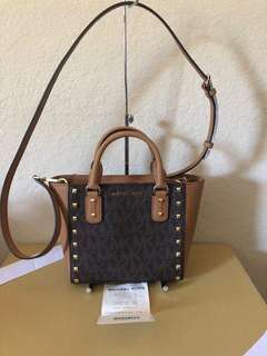 Michael Kors Crossbody Studded Bag