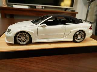 1:18 Mercedes Benz clk Dtm Kyosho alt Autoart