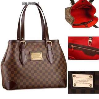 Authentic quality L V leather bags