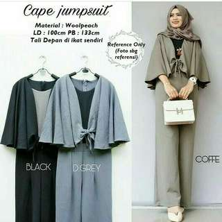 Cafe jumpsuit