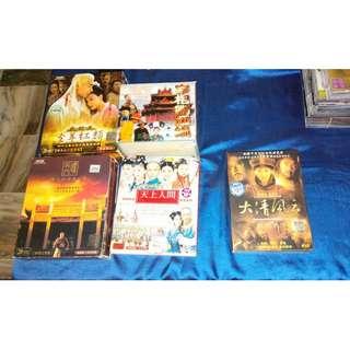 中国大制作电视剧VCD/DVD(一套)