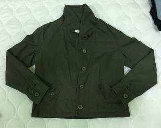 Army green Jacket.