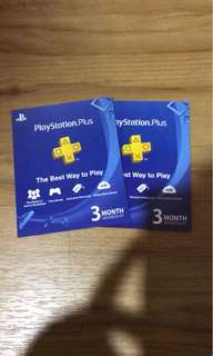 Playstation plus 3month