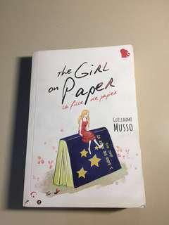 the girl on paper - guillaume musso