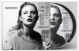 "Reputation 12"" Picture Vinyl - Taylor Swift"