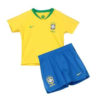 Brazil kids set World Cup jersey