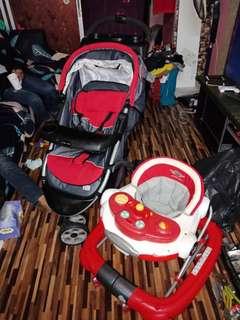 Stroller Baby + walker baby