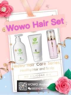 Wowo Hair Series , Shampoo , Hair Mask , Hair oil