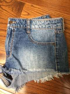 F21 jean shorts