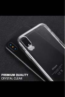 Clear iPhone casing