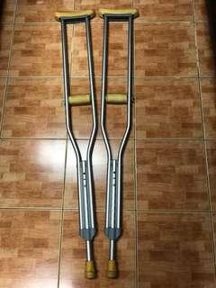 Aluminum Axillary Crutches
