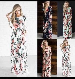 🚚 Maxi Long Dress