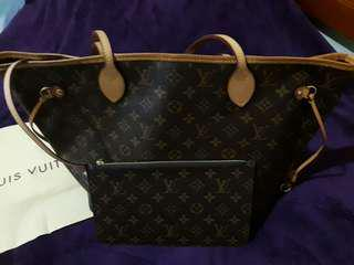 LV中型購物袋