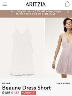 WILFRED Beaune Dress (Short) in Oak size S