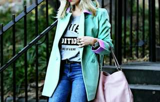 Mint Green Coat