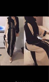 Gamis Cardy Layer