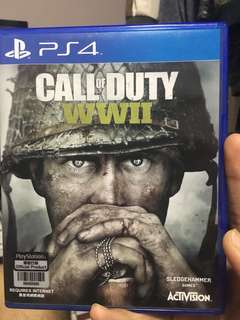 Call Of Duty World War 2 ( PS4 )