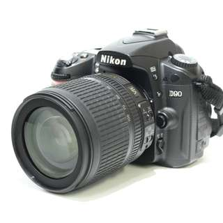 Nikon D90 Body with 18-105mm Kit Lens (SC: 10K+)