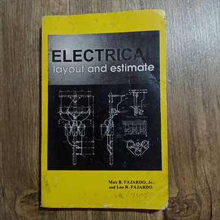 Electrical Layout and Estimate by MAX AND LEO FAJARDO