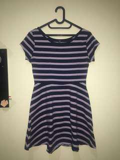 stripe dress cotton on