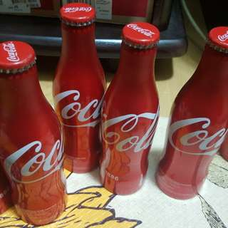 Buy 1take1 Coke Coca cola collectibles aluminum bottles from Spain