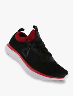 Sepatu REEBOK ASTRORIDE RUN FIRE, Black/Coal/Red/White/Steel/Pewter. BS8208. Men. Running. 100%Original