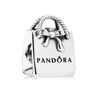 Pandora Shopping Bag Charm