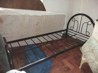 RUSH BED FRAME