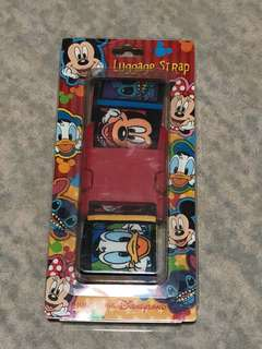 Disney Luggage Strap Belt mickey mouse